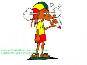 fumeur de chanvre